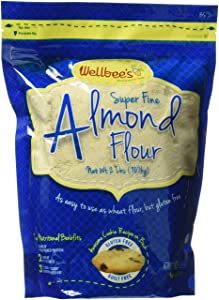 Wellbee's Blanched Almond Flour / Powder 2 LB.