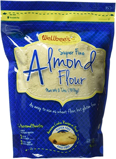 Wellbee's Super Fine Blanched Almond Flour/Powder 2 LB