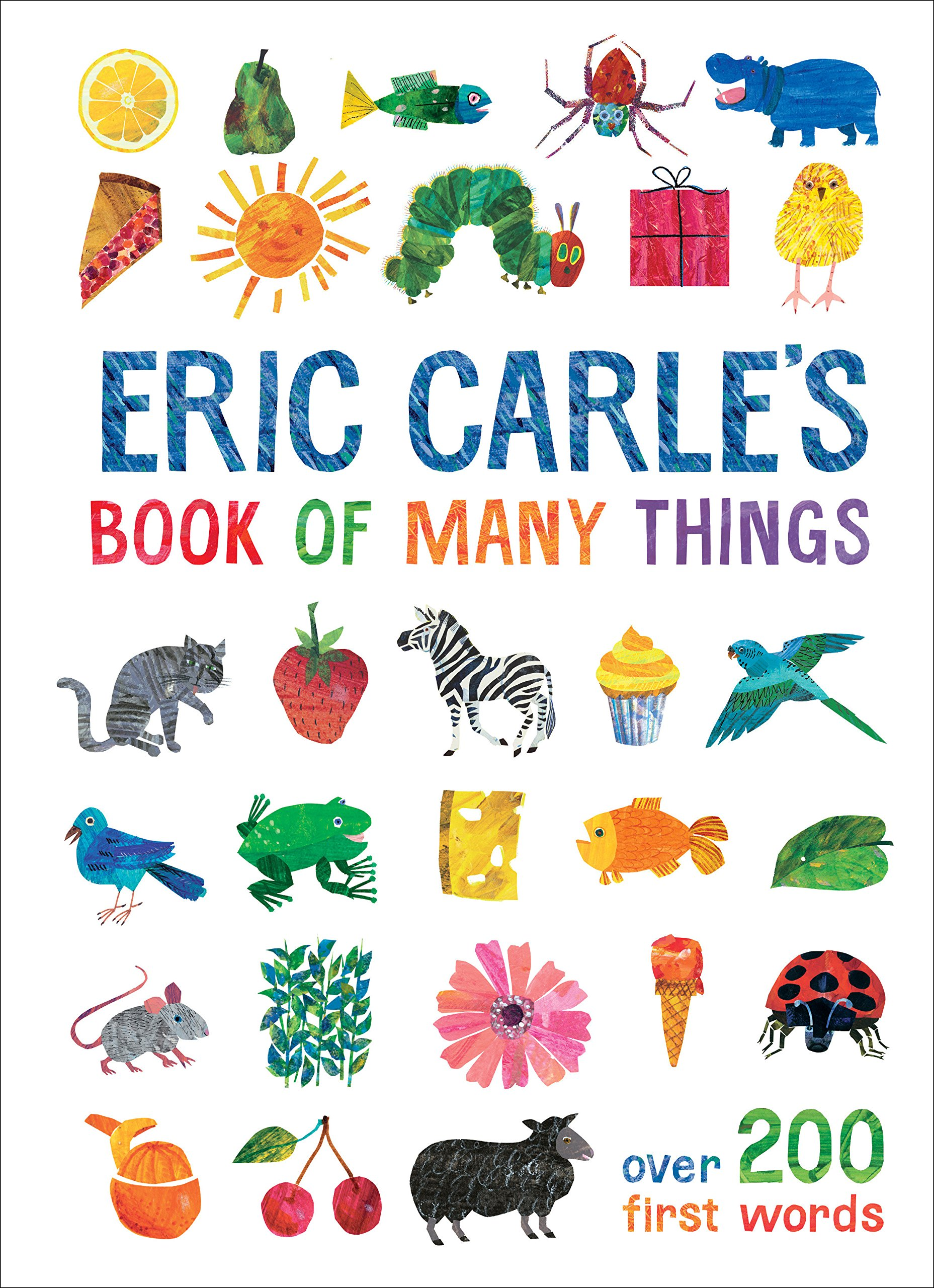 40cf8a5e0 Amazon.com: Eric Carle's Book of Many Things (The World of Eric ...