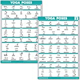 Amazon.com : NewMe Fitness Yoga Pose Exercise Poster ...