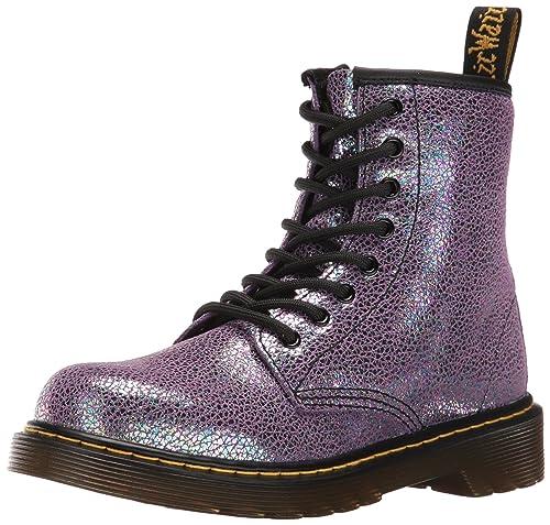 Dr. Martens Delaney Ie, Botines infantil, Morado (Purple TP Split), 36 EU: Amazon.es: Zapatos y complementos