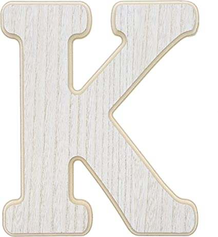12 Wooden Letter K Large Wall Decor Letters