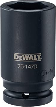 DEWALT 1//2 Drive Impact Socket 6PT 30MM