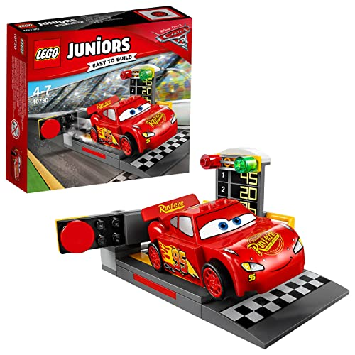 LEGO Juniors - Le propulseur de Flash McQueen - 10730 - Jeu de Construction