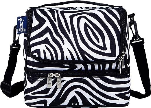 Wildkin Zebra Lunch Box Zebra Travel Cooler NEW
