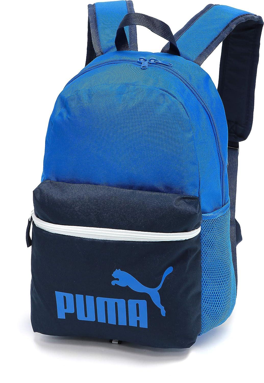 PUMA Phase Backpack, X, Puma Black-Golden logo