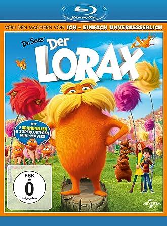 Der Lorax Movie Amazon Co Uk Dvd Blu Ray