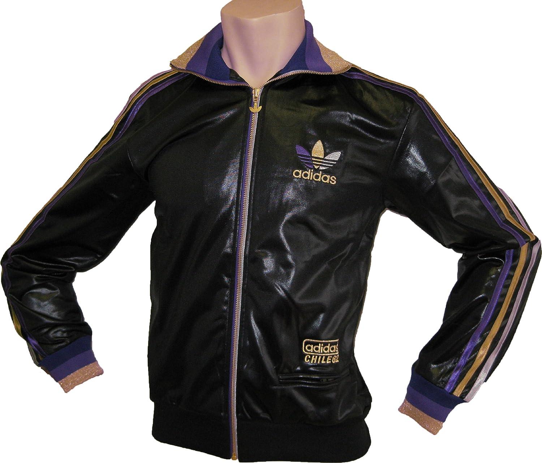 ADIDAS CHILE 62 Jacke Trainingsjacke Herren schwarz Größe 2XL
