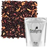 Tealyra - Grandma's Garden Berry - Fruit Tea Blend - Hibiscus and Berries Based Herbal Loose Leaf Tea - Vitamines Rich - Caffeine-Free - Hot and Iced Tea - 110g (4-ounce)