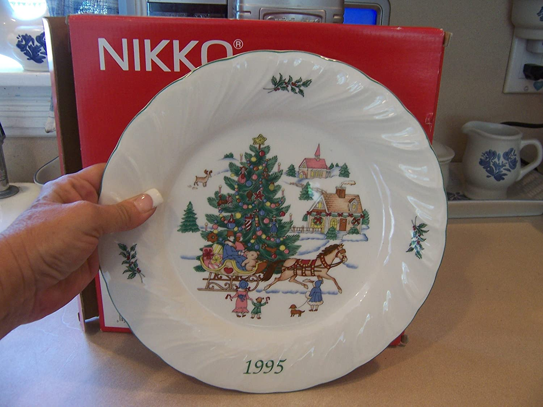 Amazon.com | Nikko Happy Holidays Dinner Plate: Dinner Plates