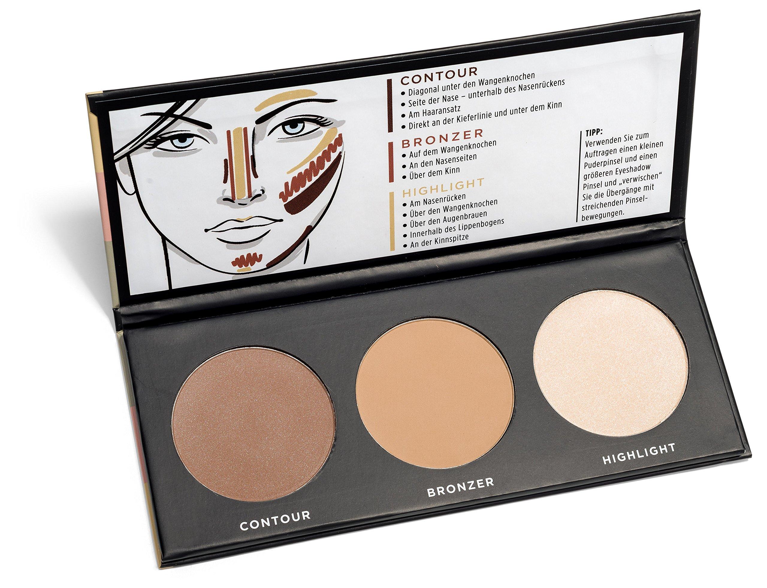 youstar – CONTOUR EFFECTS2 Palette, Multi Color Effects Palette, Contour, Puder, Powder, Bronzer, Hi product image