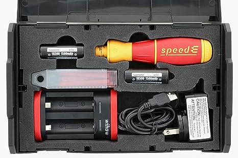 Amazon.com: Wiha 32480 SpeedE - Juego de destornilladores ...