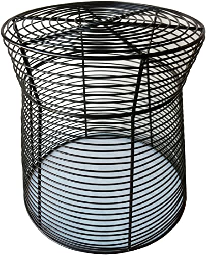 Pangaea Home and Garden Metal Wire Side Table