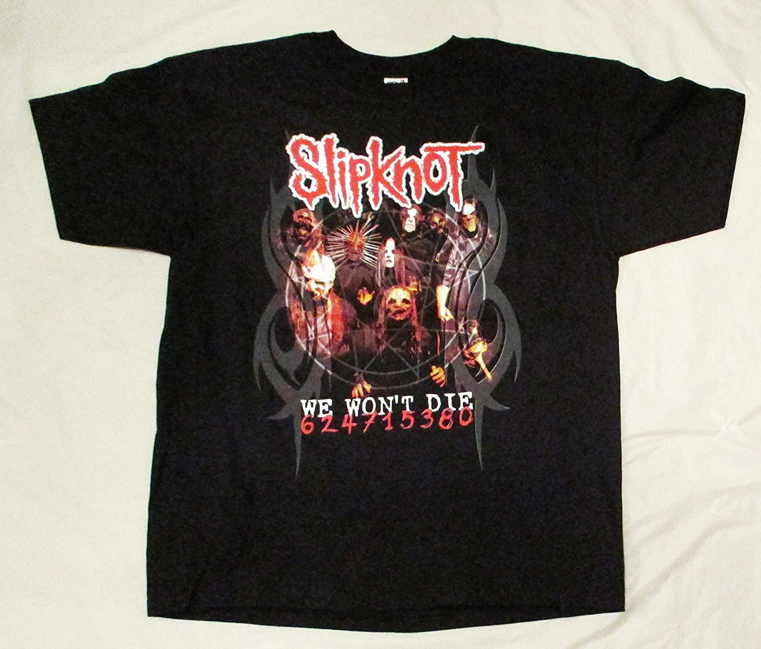 2005 Slipknot Concert T Shirt We Won't Die U.S. Tour XL X-Large