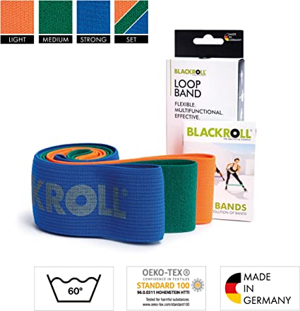 Blackroll ® loop banda set Training cintas muscular entrenamiento fitness Band
