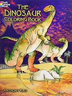 The Dinosaur Coloring Book Dover Nature