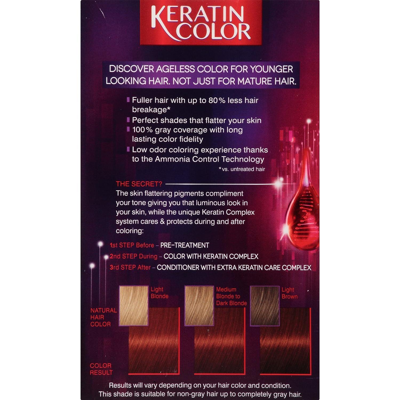 Schwarzkopf color ultimate online kaufen - Amazon Com Schwarzkopf Keratin Hair Color Warm Mahogany 5 6 2 03 Ounce Beauty