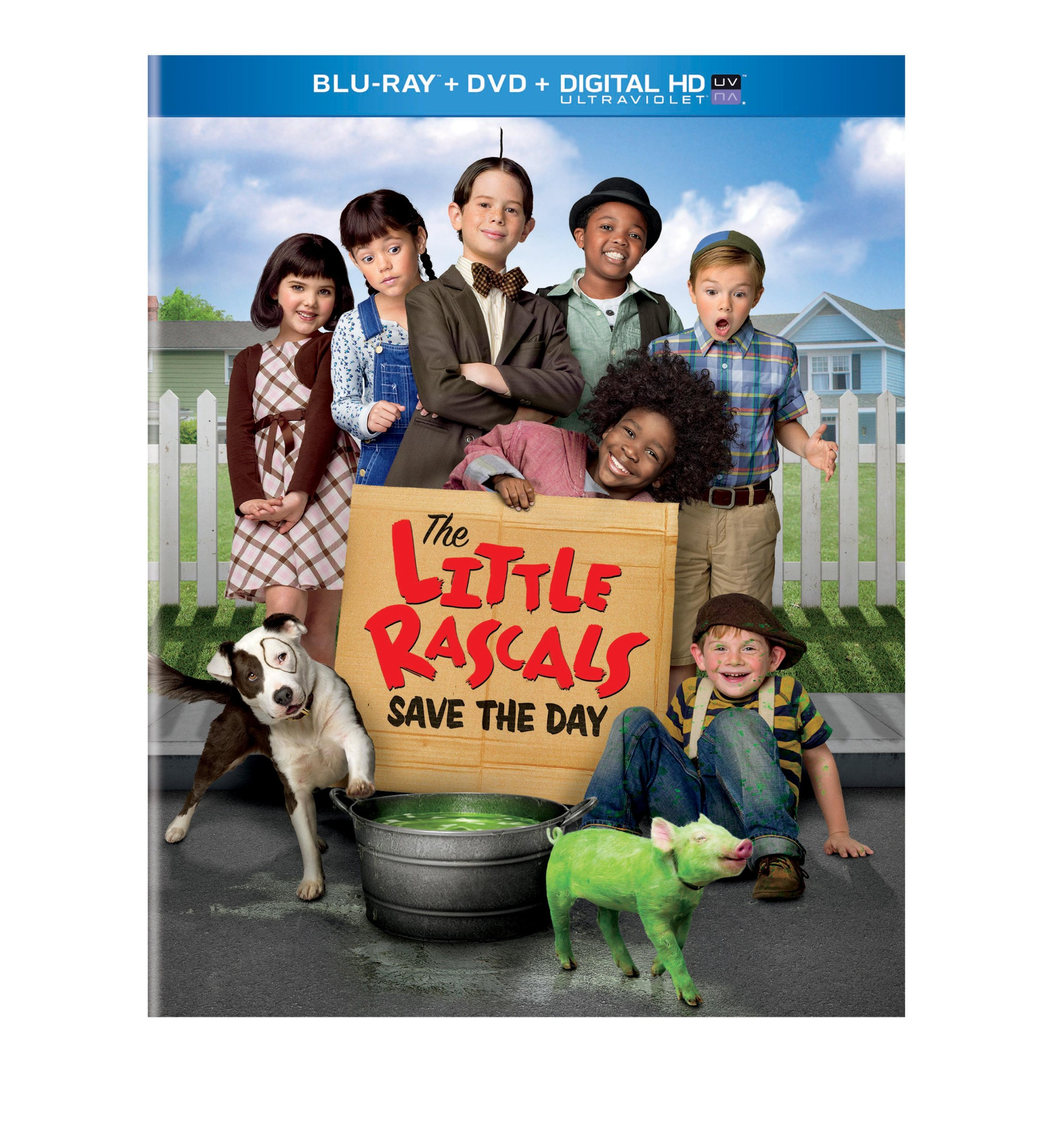 Blu-ray : Little Rascals Save the Day (2 Discos)