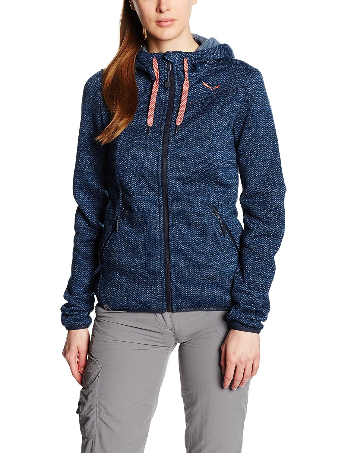 SALEWA Damen Hoody FANES PL Full-Zip