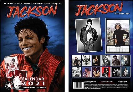 Michael Jackson Calendrier 2021 A3 avec Michael Jackson Porte clés