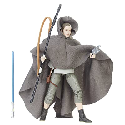 Star Wars The Black Series Rey (Island Journey): Hasbro: Toys & Games