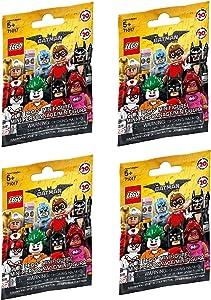LEGO, The LEGO Batman Movie Minifigures Bundle of 4 (71017) Styles May Vary