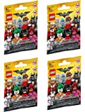 LEGO, The LEGO Batman Movie Minifigures Bundle of 4 (71017) Styles May Vary