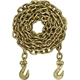 Curt 18800-lb. Transport Binder Safety Chain with Clevis Grab Hooks