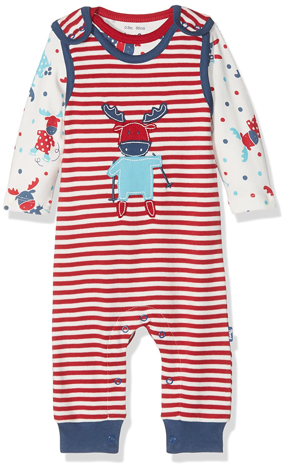 Kite Baby Moose Dungaree Set Clothing BU055