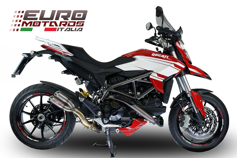 Ducati Hyperstrada Hypermotard 939 16 - 17 Gpr Escape Silenciador Thunder Slash Carrera: Amazon.es: Coche y moto