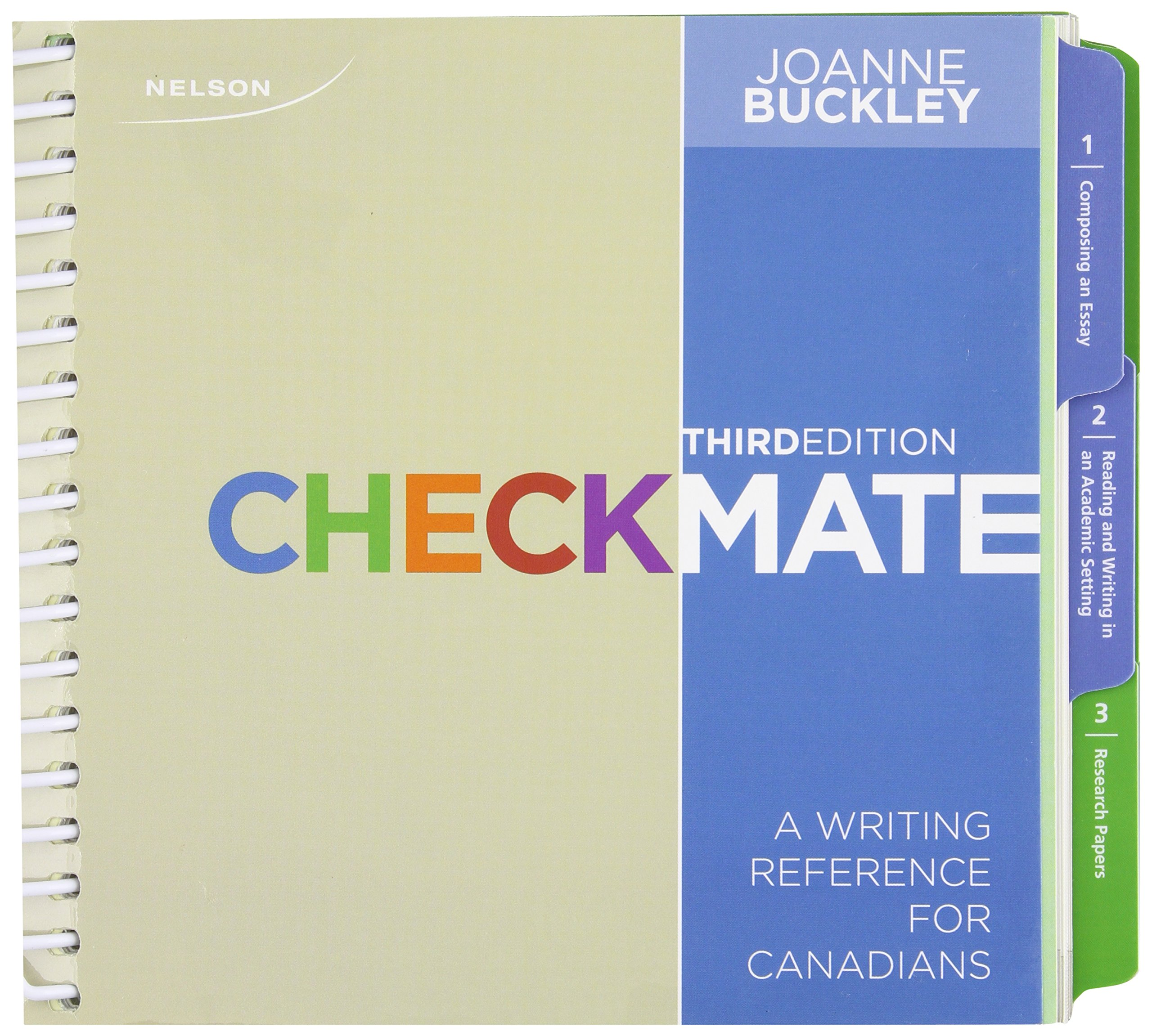 Checkmate: A Writing Reference for Canadians: Amazon.ca: Joanne Buckley:  Books