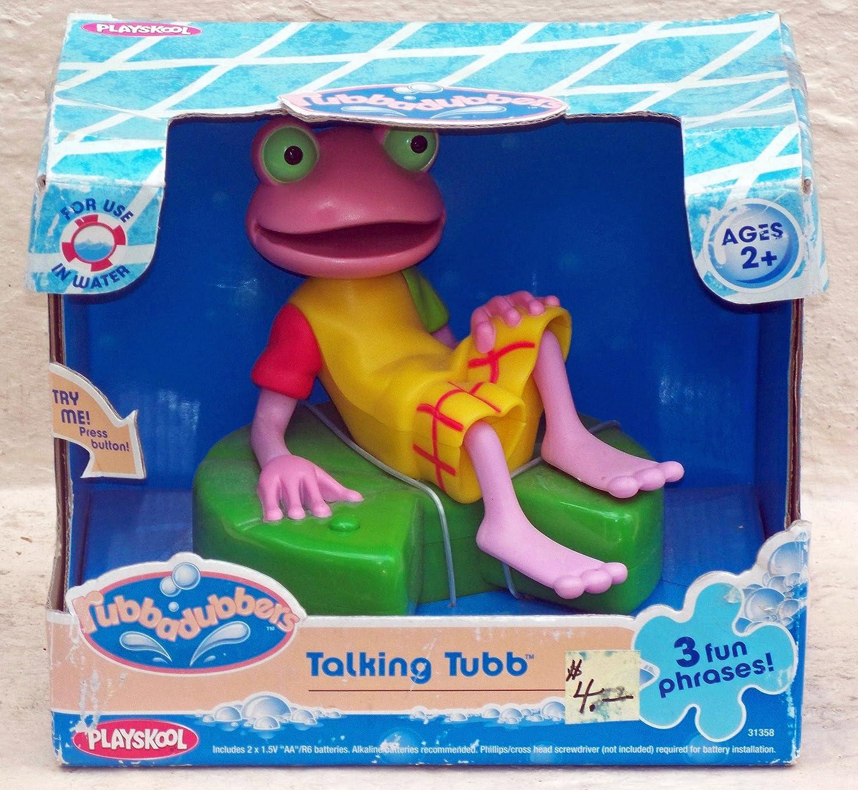. Amazon com  Rubbadubbers Talking Tubb Bath Toy  Toys   Games