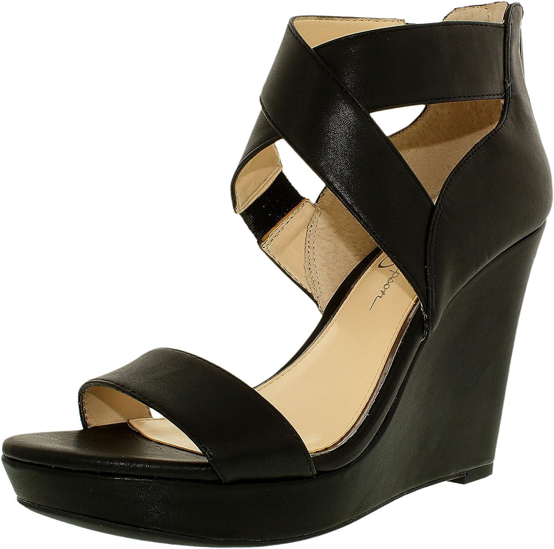 Jessica Simpson Women's JAMILEE Ankle-High Syynetic Wedge