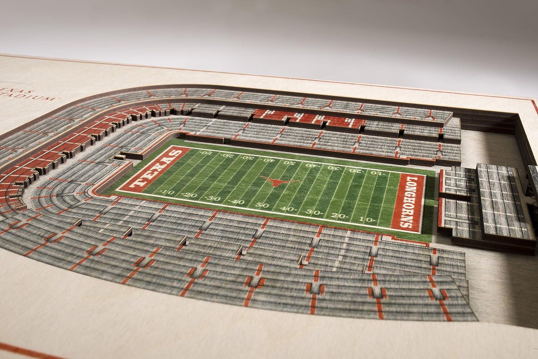 NCAA Notre Dame Fighting Irish 5-Layer Stadiumviews 3D Wall Art 17 x 13 x 5//8 Standard Version