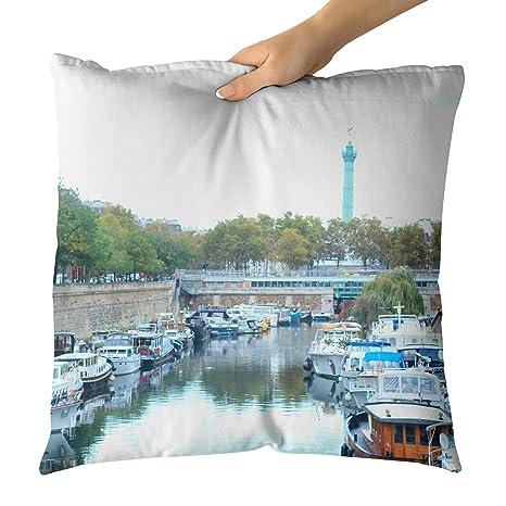 Westlake Art Bastille París-Decorativa Throw Almohada cojín ...