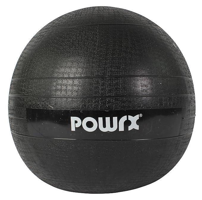 POWRX - Slam Ball Balón Medicinal 3-20 kg - Ideal para Ejercicios de  Entrenamiento Funcional - (15 kg Negro)  Amazon.es  Deportes y aire libre 9efc6b29686db