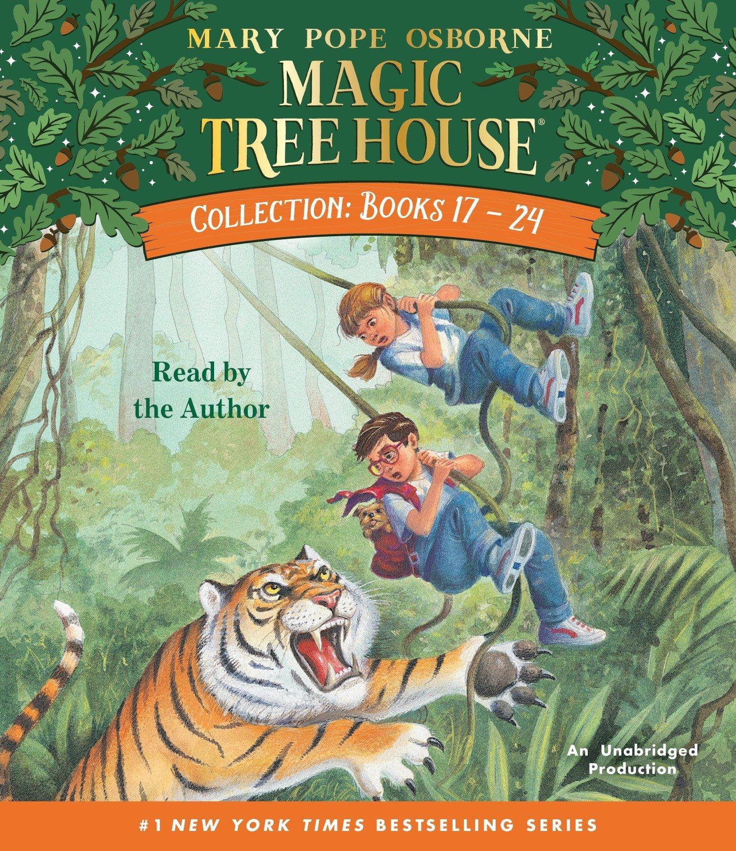 Download Magic Tree House Collection: Books 17-24 (Magic Tree House (R)) pdf epub