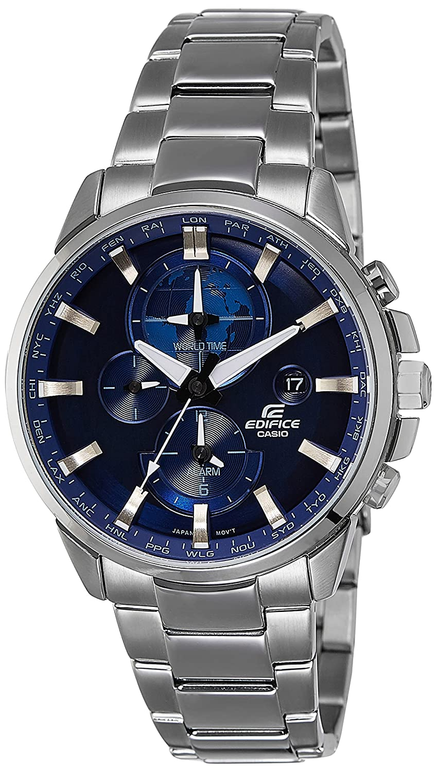 f5c45ba97b43 Buy Casio Edifice Analog Blue Dial Men s Watch - ETD-310D-2AVUDF Online at  Low Prices in India - Amazon.in