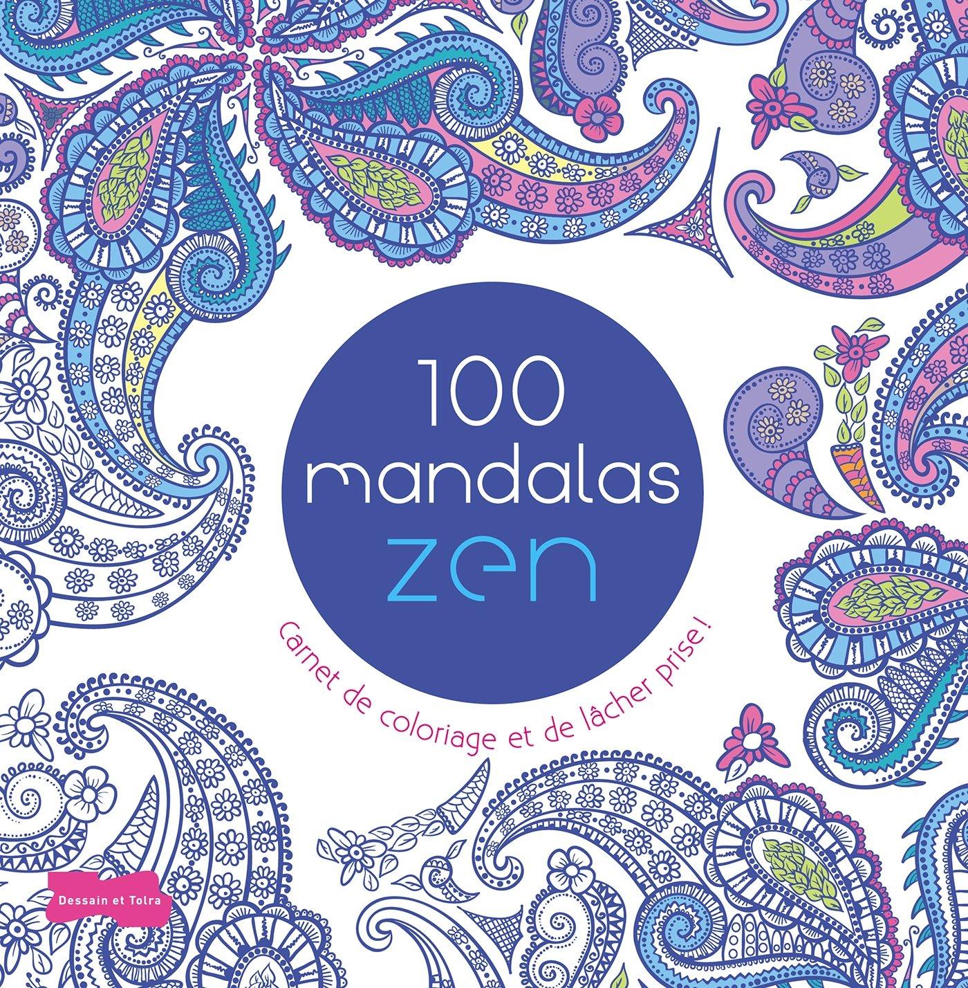 Livre Coloriage Mandala Zen 24 Pages