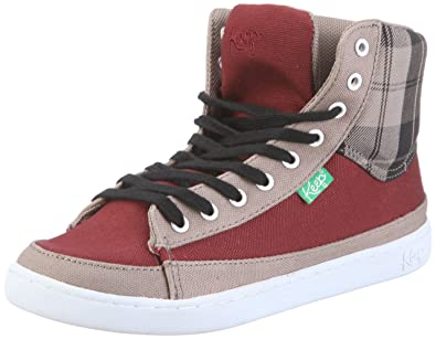 Keep Guerra Boot KP011AU11, Unisex - Erwachsene, Sneaker, Rot (maroon linen plaid K59), EU 34.5
