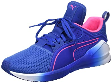 4970588af33a Puma Women s Fierce Low WNS True Blue and Knockout Pink Multisport Training  Shoes - 3 UK