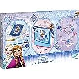 Totum 681019 - Disney Frozen 3 in 1 Set: Schultertasche, Stempelset und Bettelarmbander