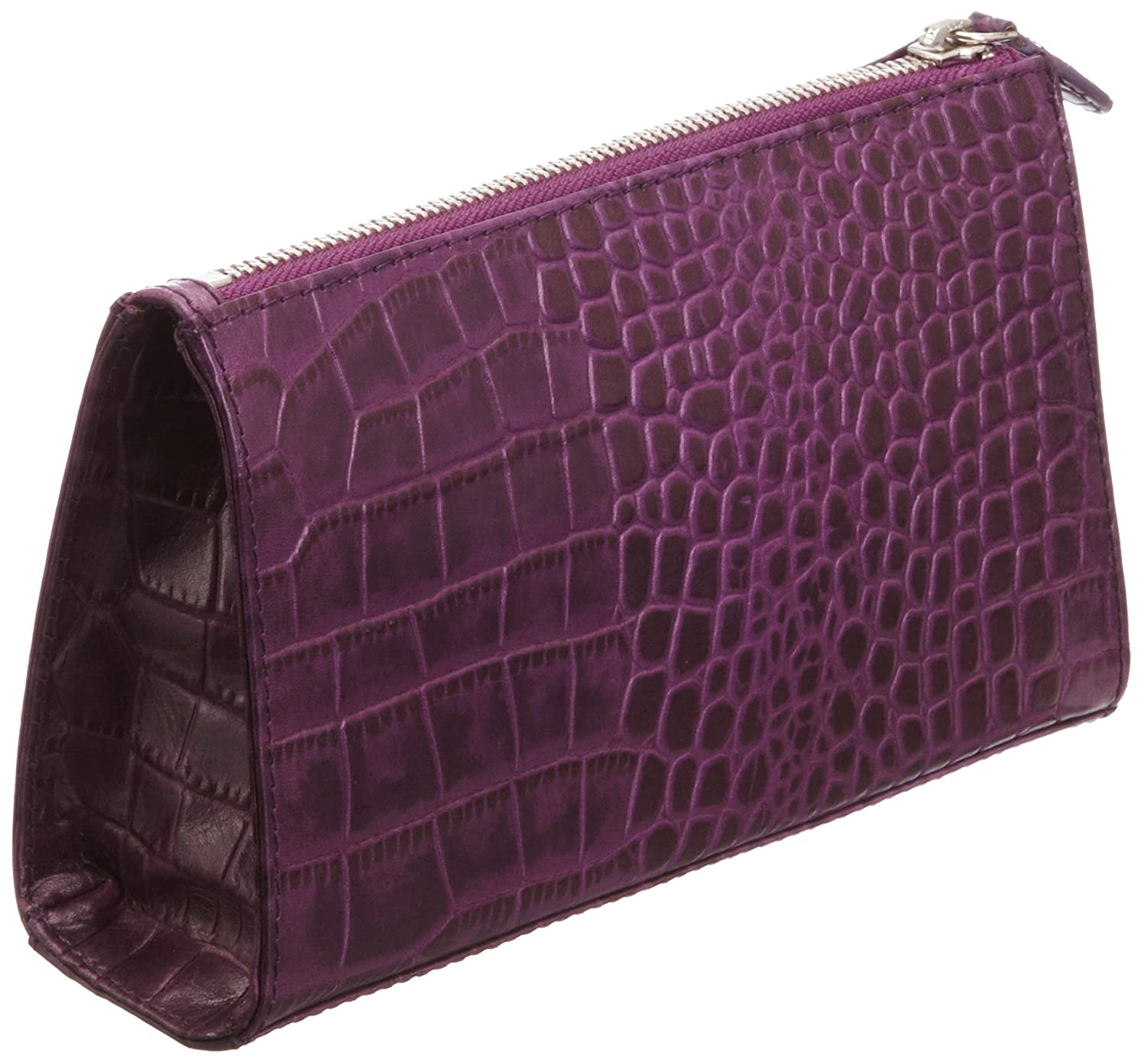 78f71f073e99 Osprey London Womens Large Belle Croc 10 Purse OL2374-10 Purple:  Amazon.co.uk: Luggage