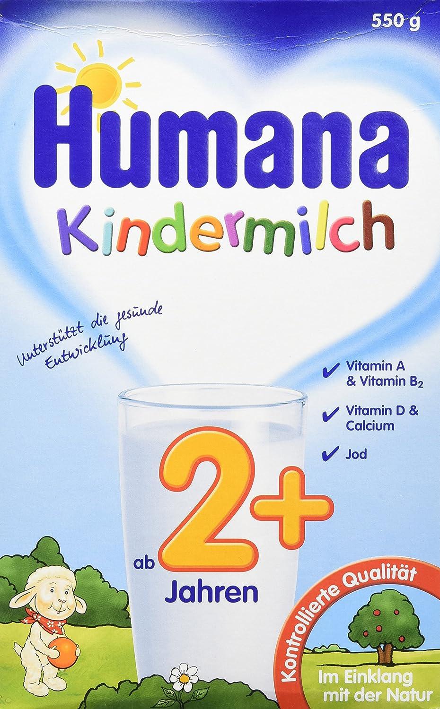 Humana Kindermilch (ab 2 Jahren), 550 g Babynahrung Kindernahrung Milchgetränk Milchpulver Pantry