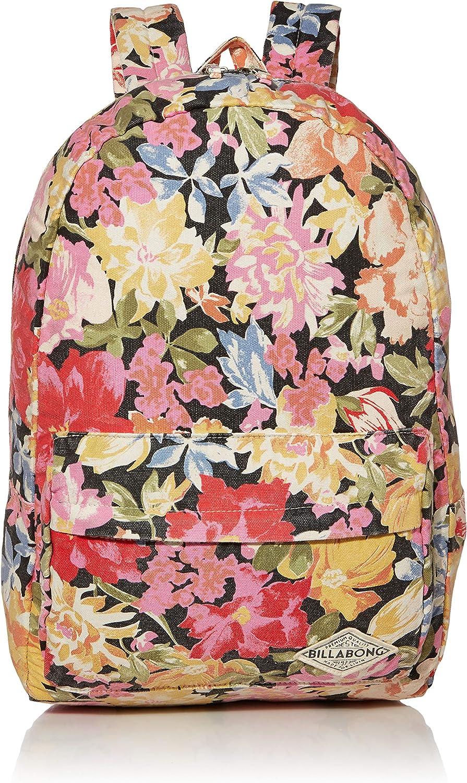 Billabong Women's Hand Over Love Backpack, Black Olive, ONE