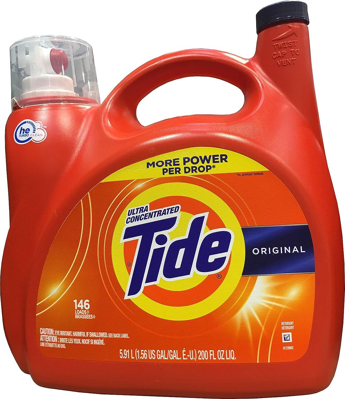 Tide He Original Liquid Detergent( 146 Loads/ 200 Fl Oz), 200 fl. oz.