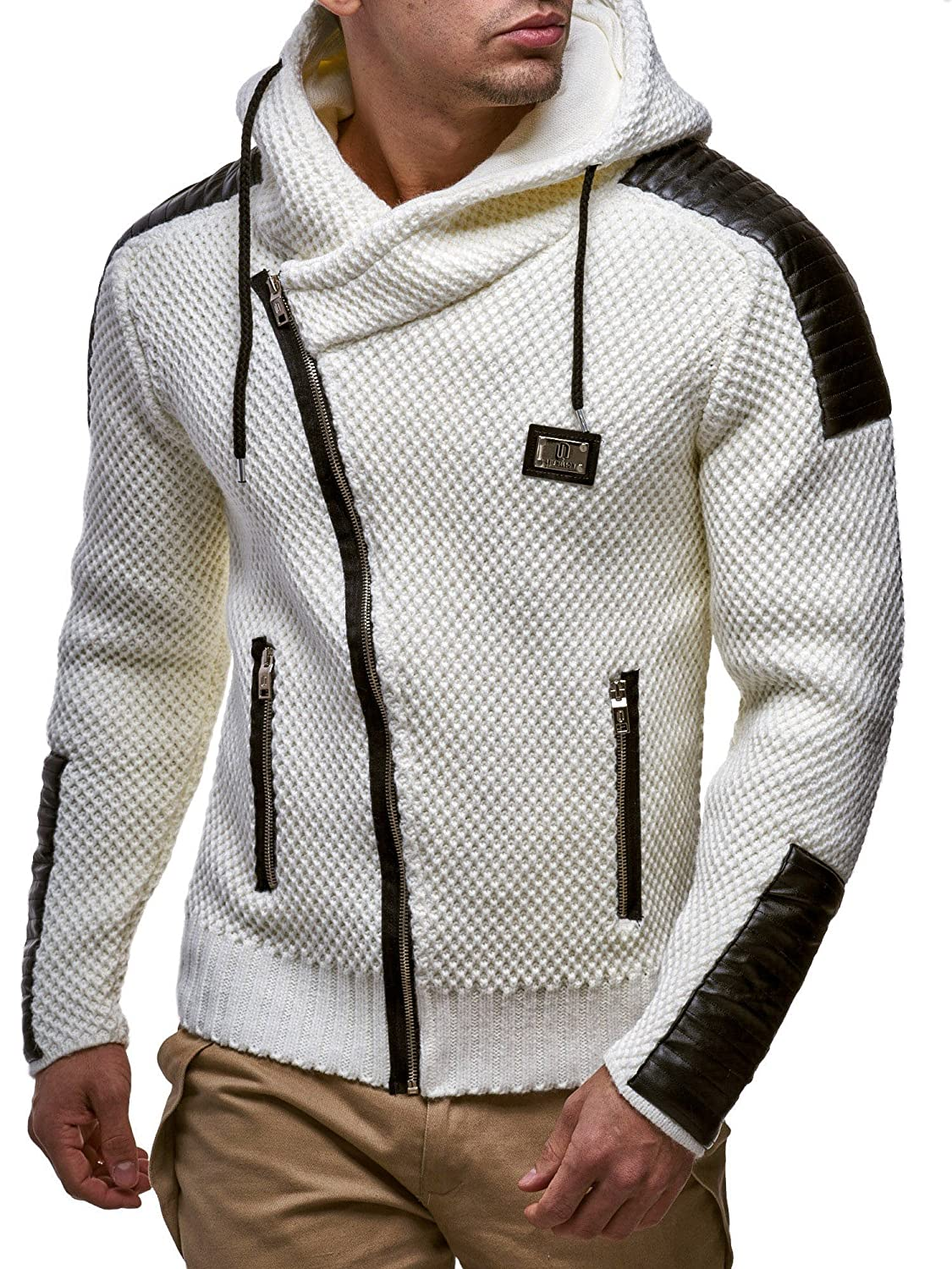 LEIF NELSON Men's Knitted Jacket 5015