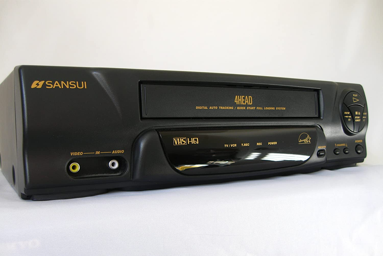 Sansui VCR4510E HQ 4-Head VHS Recorder/Player