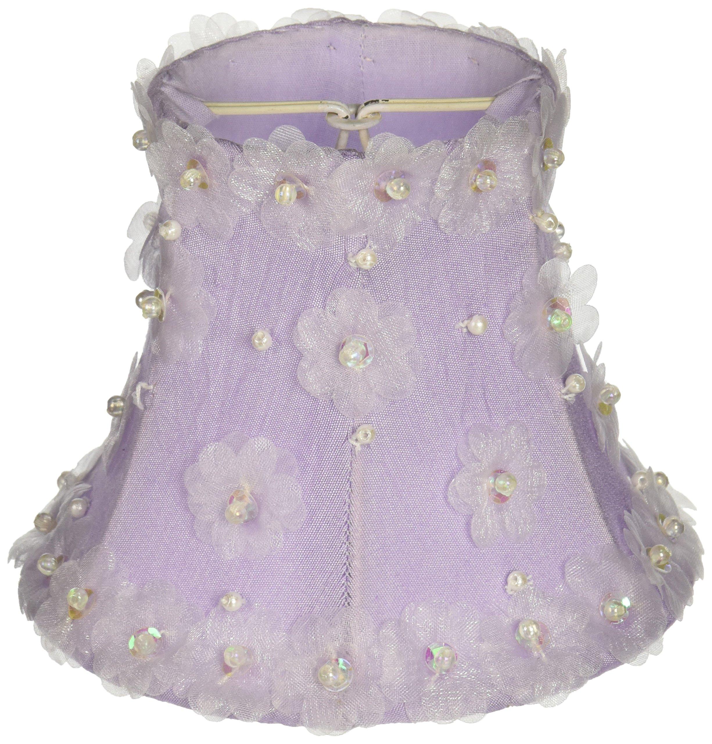 Jubilee Collection 2525 Petal Flower Chandelier Shade, Lavender