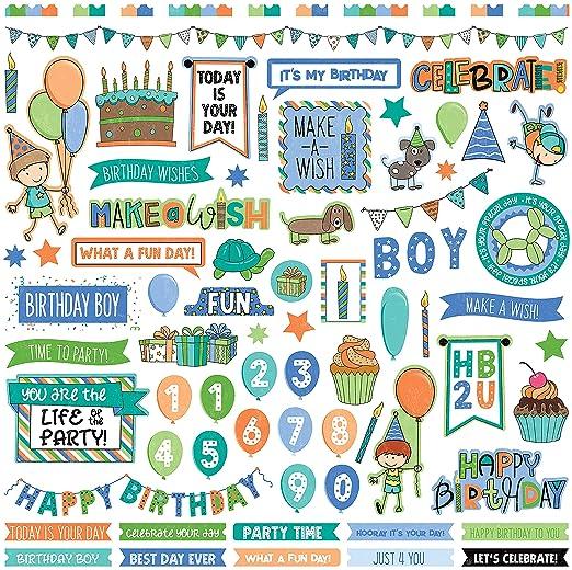 PhotoPlay - Pegatinas para Elementos - cumpleaños niño ...